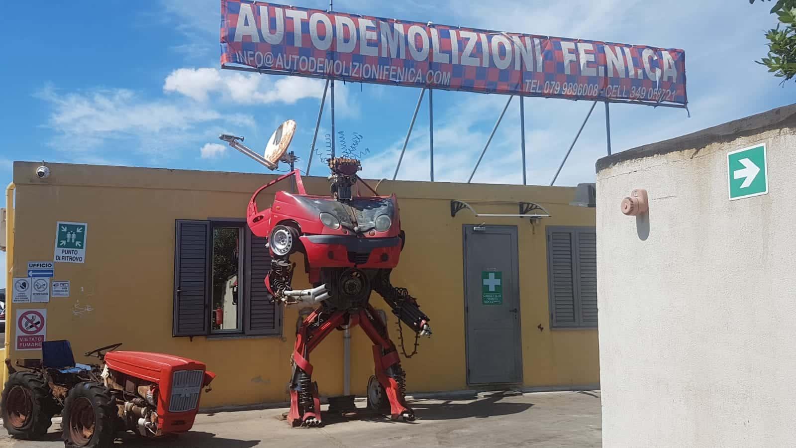 AUTODEMOLIZIONI FENICA ALGHERO